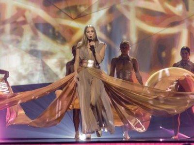 Agnes & Darin at Eurovision!