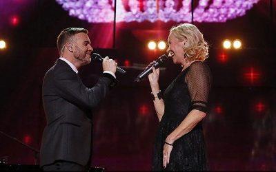 Agnetha Fältskog & Gary Barlow: 'I Should've Followed You Home' (LIVE!)