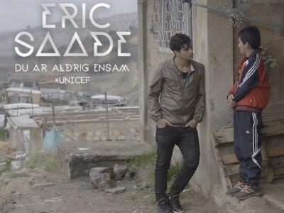 Eric Saade: 'Du Är Aldrig Ensam'