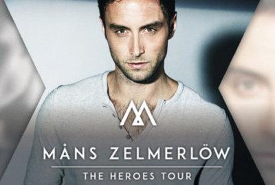 Måns Zelmerlöw – pre-tour concert in Stockholm!